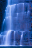 A Blurred Motion View of a Waterfall Near King George Falls in the Kimberley Region