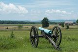 A Civil War Cannon at Gettysburg Battlefield