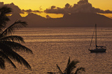 The Island of Mo'Orea as Seen from Tahiti