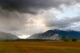 Leadville  Colorado: A Storm Builds in the Colorado High Country