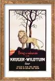 Poster Advertising the Kruger National Park  C1930