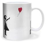 Banksy Balloon Girl Mug