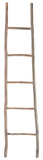 Wood White Washed Ladder - Large