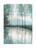 Morning Trees 1 Reproduction d'art par Norman Wyatt Jr.