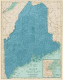 Eastern States II Reproduction d'art par Piddix