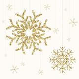 Golden Snowflake I