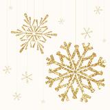 Golden Snowflake II