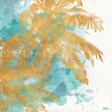 Beach Palm Watercolor II
