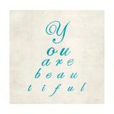 You are Beautiful in Blue Reproduction d'art par Morgan Yamada