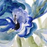 Delicate Blue Square I