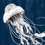 Underwater Creatures I Reproduction d'art par A Fresh Bunch
