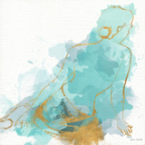 Seated Watercolor Woman I