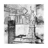 New York One Way B&W