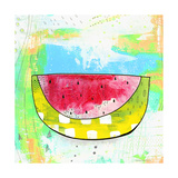 Hot Watermelon Reproduction d'art par Sarah Ogren