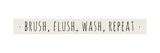 Brush Flush Wash Repeat