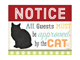 Notice All Guest Must Be Approved