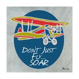 Airplane Two Reproduction d'art par Shanni Welsh