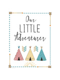 Little Adventurer Reproduction d'art par Jo Moulton