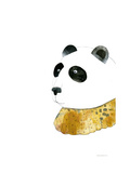 Panda with Gold Color