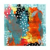 Geometric Abstract I Reproduction d'art par Sarah Ogren