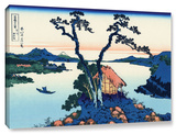 Lake Suwa In The Shinano Province  Gallery-Wrapped Canvas