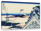 Asakusa Honganji Temple In Th Eastern Capital  Gallery-Wrapped Canvas