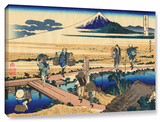 Nakahara In Sagami Province   Gallery-Wrapped Canvas