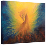 Firebird  Gallery-Wrapped Canvas