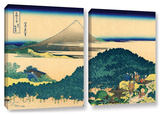 The Coast Of Seven Leages In Kamajura  2 Piece Gallery-Wrapped Canvas Set