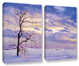 Solitude  2 Piece Gallery-Wrapped Canvas Set