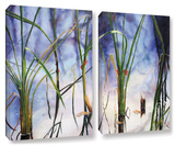 Mystic Pond  2 Piece Gallery-Wrapped Canvas Set