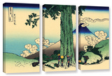 Mishima Pass In Kai Province  3 Piece Gallery-Wrapped Canvas Set