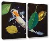 Kumonryu Koi  2 Piece Gallery-Wrapped Canvas Set