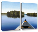 Paddle Muskoka  2 Piece Gallery-Wrapped Canvas Set