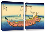 The Kazusa Province Sea Route  2 Piece Gallery-Wrapped Canvas Set