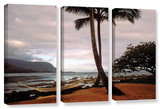 Hanalei Bay Hammock At Dawn  3 Piece Gallery-Wrapped Canvas Set