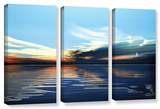 Quiet Reflections  3 Piece Gallery-Wrapped Canvas Set