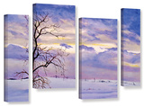 Solitude  4 Piece Gallery-Wrapped Canvas Staggered Set