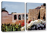 Bells Of Mission San Juan Capistrano  2 Piece Gallery-Wrapped Canvas Set