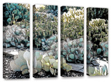 Botanical Garden  4 Piece Gallery-Wrapped Canvas Set