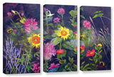 Out Of Darkness  3 Piece Gallery-Wrapped Canvas Set