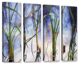 Mystic Pond  4 Piece Gallery-Wrapped Canvas Set