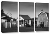 Relics Of The Past  3 Piece Gallery-Wrapped Canvas Set
