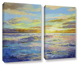 Florida Sunrise  2 Piece Gallery-Wrapped Canvas Set