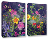 Out Of Darkness  2 Piece Gallery-Wrapped Canvas Set