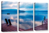 Interlude Filtered  3 Piece Gallery-Wrapped Canvas Set