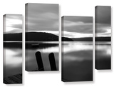 Still Waters  4 Piece Gallery-Wrapped Canvas Staggered Set