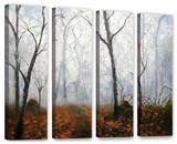 Autumn Mist  4 Piece Gallery-Wrapped Canvas Set