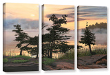 Auburn Evening  3 Piece Gallery-Wrapped Canvas Set