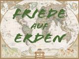Friede auf Erden Reproduction d'art par National Geographic Maps
